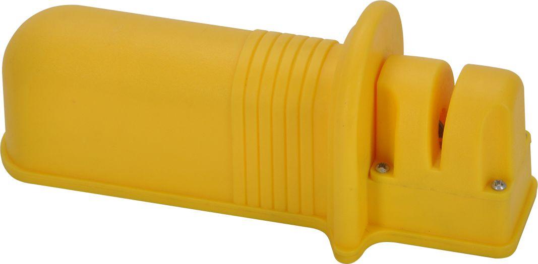 Кухонная точилка для ножей Regent Inox Promo, 1 шаг заточки, 14 х 6 х 5 см. 94-370294-3702Кухонная точилка для ножей Regent Inox Promo обеспечивает сохранение заточки ножей.Простая в использовании, с абразивным камнем. Для правшей идля левшей.