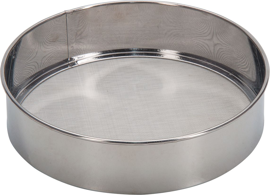 Сито для муки Regent Inox Promo, 21 см. 94-420794-4207Ситечко Axentia, выполненное из нержавеющей стали, станет незаменимым аксессуаром на вашей кухне. Оно предназначено для просеивания и процеживания. Удобная ручка с пластиковой вставкой не позволит выскользнуть изделию из вашей руки. Ручка имеет отверстие, с помощью которого изделие можно подвесить в удобном для вас месте.Такое ситечко станет достойным дополнением к кухонному инвентарю.Диаметр: 21 см.