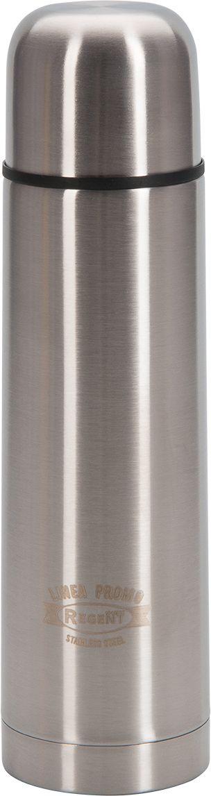 Термос Regent Inox Promo, 0,5 л. 94-4601NBP-500CТермос Regent Inox Promo - это современная технология теплоизоляции, вакуум между стенкамиобеспечивает надежное сохранение температуры содержимого. Металлическая колба, посравнению со стеклянной не боится падений, поэтому надежна и долговечна в эксплуатации.Сохраняет температуру как горячих, так и холодных напитков.
