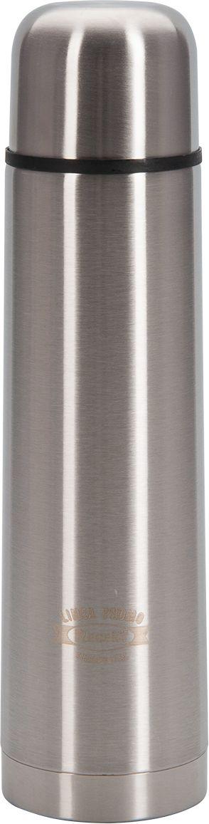 Термос Regent Inox Promo, 0,75 л. 94-460294-4602Термос Regent Inox Promo - это современная технология теплоизоляции, вакуум между стенками обеспечивает надежное сохранение температуры содержимого. металлическая колба, по сравнению со стеклянной не боится падений, поэтому надежна и долговечна в эксплуатации. Сохраняет температуру как горячих, так и холодных напитков.