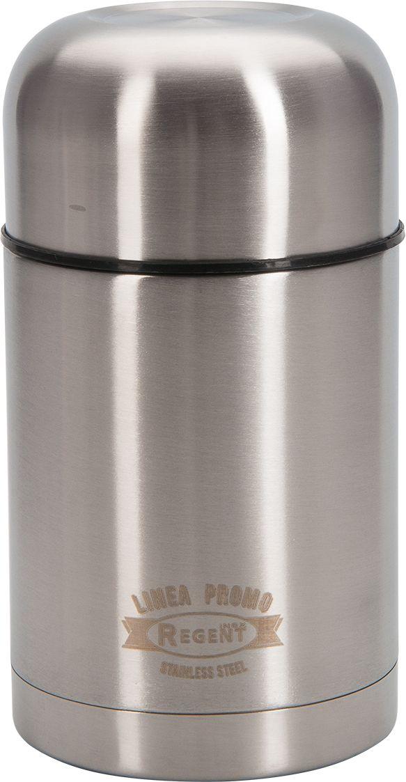 Термос суповой Regent Inox Promo, 0,75 л. 94-460594-4605Термос суповой Regent Inox Promo- это современная технология теплоизоляции, вакуум между стенками обеспечивает надежное сохранение температуры содержимого. металлическая колба, по сравнению со стеклянной не боится падений, поэтому надежна и долговечна в эксплуатации. Возможно хранить, как горячие, так и холодные супы.