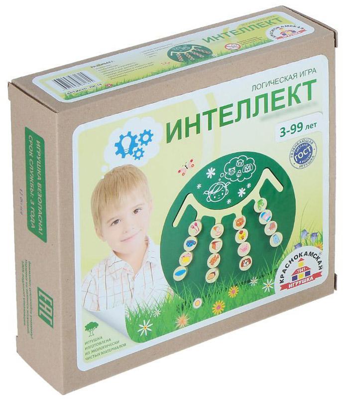 Краснокамская игрушка Обучающая игра Интеллект логические игрушки
