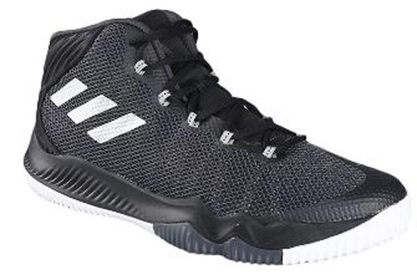 Кроссовки мужские adidas Crazy Hustle, цвет: черный. BW0560. Размер 12,5 (46,5)BW0560Эти баскетбольные кроссовки, созданные для жесткой борьбы за мяч, помогуттебе обходить защиту и ловко забивать сверху. Легкий верх с голенищем среднейвысоты усилен бесшовными вставками для дополнительной поддержки.Технология BOUNCE обеспечивает динамичную амортизацию, заряжая каждыйшаг дополнительной энергией. Вставка из термополиуретана в средней частистопы для дополнительной поддержки.