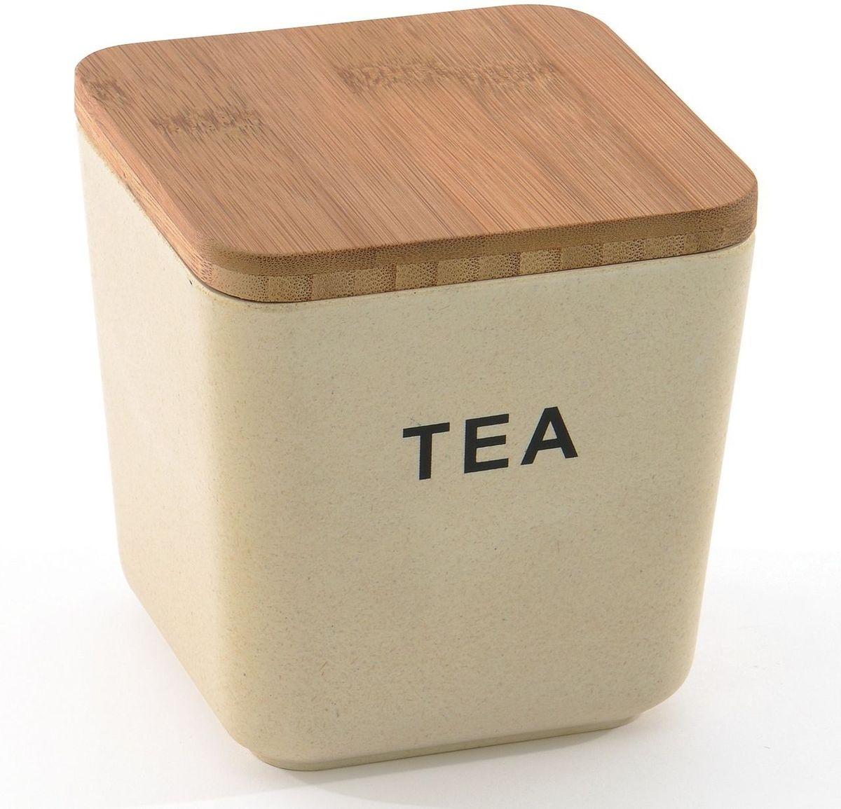 Банка для хранения чая BergHOFF Cook&Co, с крышкой, 900 мл2800053Банка с крышкой BergHOFF Cook&Co– это стильная банка, которая идеально подойдет для хранения чая. Банка имеет квадратную форму и изготовлена из бамбукового волокна и безопасного меламина. Она прочная, стильная и яркая благодаря чему впишется в любой интерьер. Крышка выполнена из бамбука. Банку можно мыть в посудомоечной машине. Благодаря экологическому материалу банка от компании BergHOFF идеально подойдет для хранения любых сыпучих продуктов.