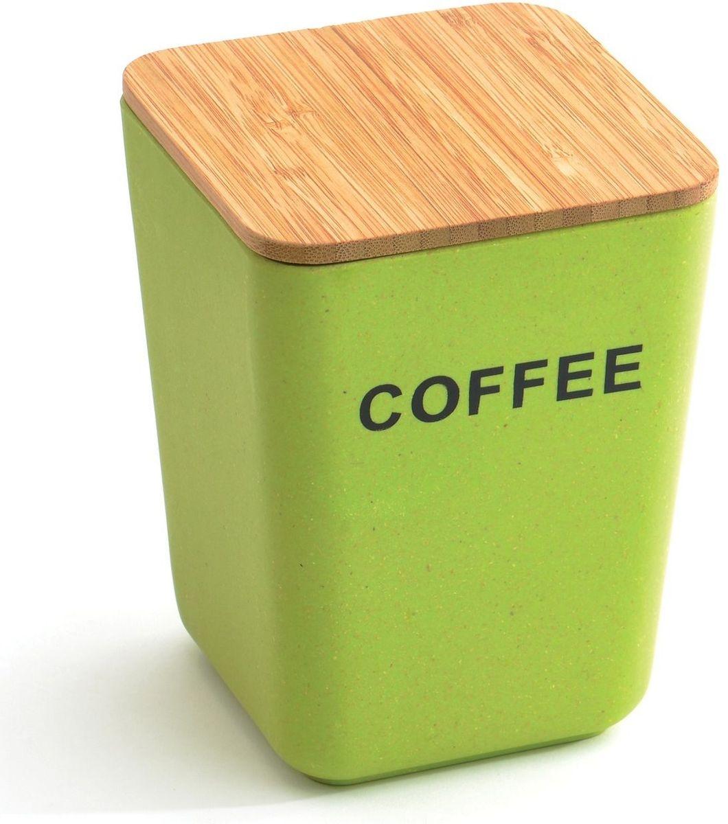 Банка для хранения кофе BergHOFF Cook&Co, с крышкой, 1,2 лL2430924Банка с крышкой BBergHOFF Cook&Co – это стильная банка, которая идеально подойдет для хранения кофе. Банка имеет прямоугольную форму и изготовлена из бамбукового волокна и безопасного меламина. Она прочная, стильная и яркая, благодаря чему впишется в любой интерьер. Крышка выполнена из бамбука. Банку можно мыть в посудомоечной машине.Благодаря экологическому материалу банка от компании BergHOFF идеально подойдет для хранения любых сыпучих продуктов.