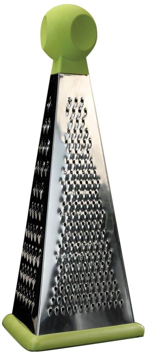 Терка BergHOFF Cook&Co, 3-сторонняя, длина 24 см2800911Терка BergHOFF Cook&Co - очень надежная так как выполнена из высококачественной нержавеющей стали, а так же очень удобна за счет круглой ручки и основания которое не скользит по поверхности и не повреждает Вашу мебель.Кол-во плоскостей – 3Высота,см – 24Материал корпуса – высококачественная нержавеющая сталь Материал ножей – высококачественная нержавеющая сталь Возможность шинкования – нетНазначение – многофункциональнаяПодходит для посудомоечной машины