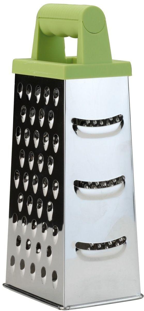 Терка четырехгранная BergHOFF Cook&Co, высота 23 см2800966Терка BergHOFF Cook&Co выполнена из качественной нержавеющей стали и пластика, имеет удобную ручку.Каждая хозяйка оценит практичность и функциональность этой терки, а оригинальный дизайн станет украшением вашей кухни.