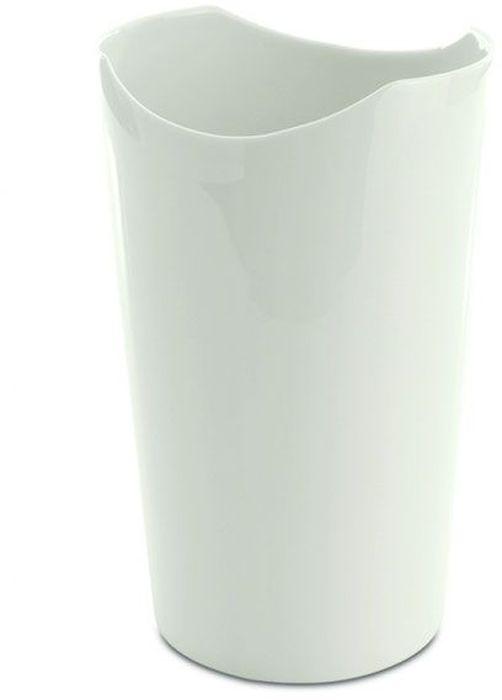 Ваза BergHOFF Eclipse, цвет: белый, высота 19 см3700441Ваза BergHOFF Eclipse- элегантная ваза выполненная из фарфора белого цвета с оригинальным рисунком, послужит отличным дополнением к интерьеру вашего дома. Необычный дизайн вазы делает этот предмет не просто сосудом для цветов, но и оригинальным сувениром, который радует глаз и создает настроение. Окружая себя красивыми вещами, вы создаете в своем доме атмосферу гармонии, тепла и комфорта.