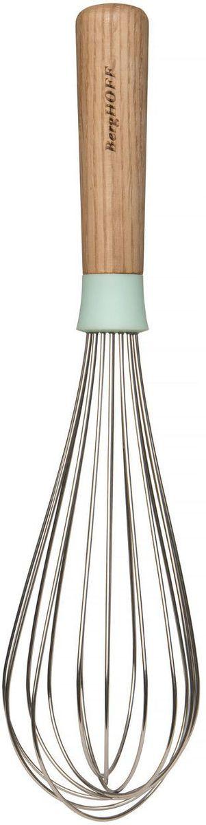 Венчик BergHOFF Leo, цвет: бежевый, длина 28 см3950017Венчик BergHOFF Leo изготовлен из нержавеющей стали и полипропилена. Венчик является необходимым помощником каждого повара. Простое и надежное изделие служит аналогом миксера и блендера и предназначено для взбивания различных продуктов. Венчик прост в обращении и не требует затрат электроэнергии. Кроме того, изделие легко моется и при аккуратном использовании имеет неограниченный срок годности.Линия Leo от BergHOFF оживит вашу кухню игривыми цветами, чистыми линиями и мягкими текстурами.