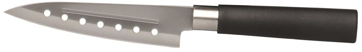 Нож сантоку BergHOFF Cook&Co, длина лезвия 12,5 см2801444Нож для мяса BergHOFFs Cook&Co - это универсальный кухонный нож, подходящий практически для любых целей, прекрасно сбалансированный.