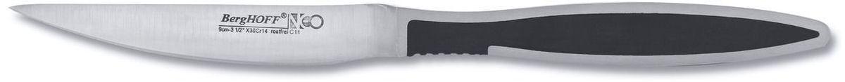 Нож для чистки овощей BergHOFF Neo, длина лезвия 9 см3500735Нож BergHOFF Neo выполнен из кованной высококачественной нержавеющей стали, устойчив к пятнам и коррозии. Он используется для чистки овощей и фруктов, приготовления гарниров и салатов. Также применяется для отделения костей в птице или рыбе.Нож BergHOFF Neo предоставит вам все необходимые возможности в успешном приготовлении пищи и порадует вас своими результатами.