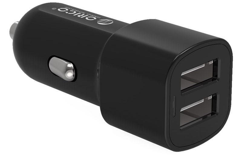 Orico UCL-2U, Black автомобильное зарядное устройствоORICO UCL-2U-BKЗарядное устройство Orico UCL-2U оснащено двумя разъёмами USB: 1 A и 2,4 А. Корпус выполнен из пожаробезопасного ABS-пластика. Благодаря использованию качественных электронных компонентов, КПД Orico UCL-2U удалось поднять до 88%. Зарядное устройство Orico UCL-2U сможет самостоятельно определить тип подключённого устройства и подобрать оптимальное сочетание выходных характеристик для быстрой и компактной зарядки. Максимальное значение выходных напряжений составляет 5 В, 2,4 А. Этого хватит для зарядки любых современных смартфонов и планшетов. Orico UCL-2U совместим не только с множеством устройств, но и со всеми моделями автомобилей с прикуривателями на 12 В и 24 В.