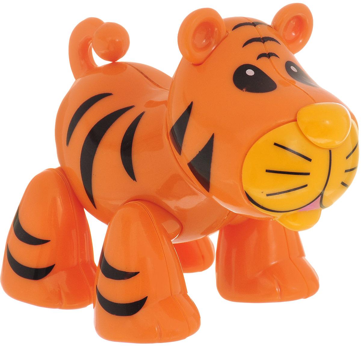 Ути-Пути Развивающая игрушка Обитатель африканской саванны Тигр феникс развивающая книжка живой мир саванны