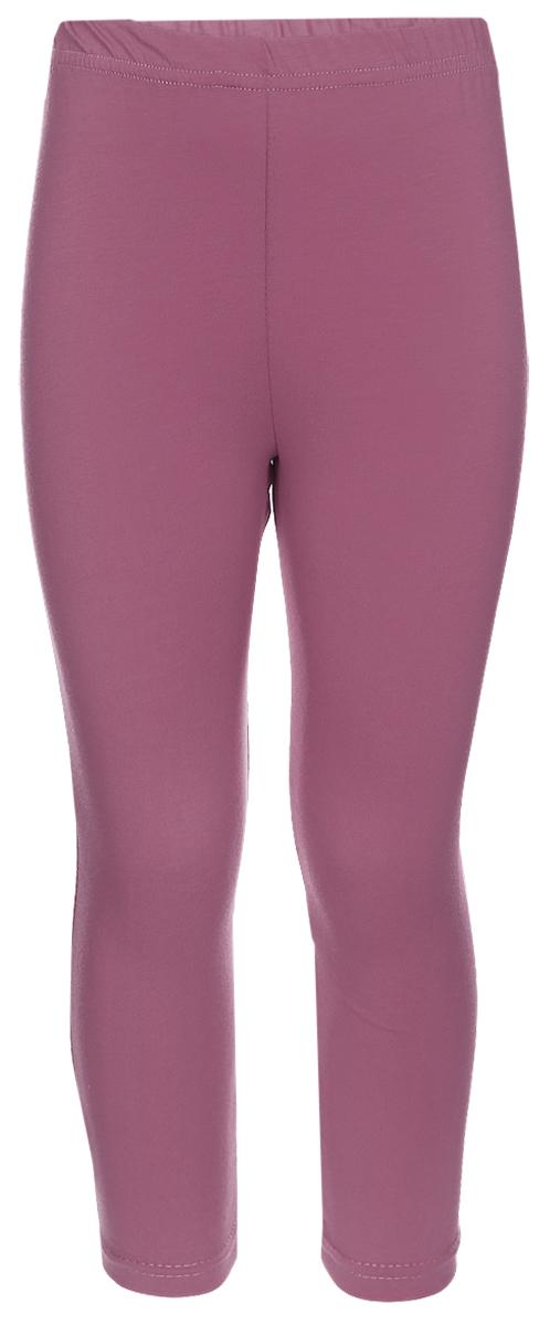 Лосины для девочки Клякса, цвет: брусничный. ЛС-1. Размер 110ЛС-1Трикотажные лосины изготовлены из мягкого хлопка, они тактильно приятные и не сковывают движения. Модель на талии имеет эластичную резинку.