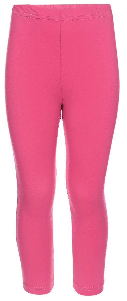 Лосины для девочки Клякса, цвет: фуксия. ЛС-1. Размер 98ЛС-1Трикотажные лосины изготовлены из мягкого хлопка, они тактильно приятные и не сковывают движения. Модель на талии имеет эластичную резинку.