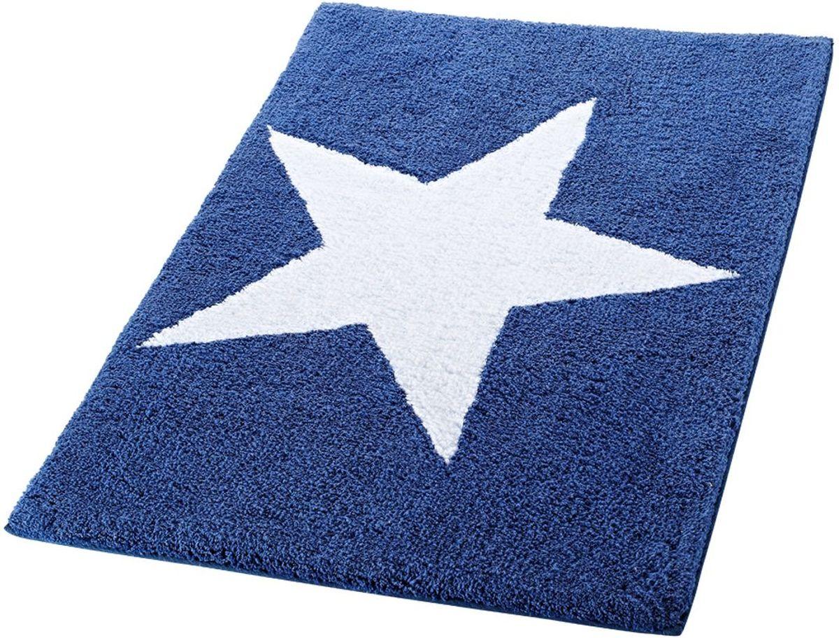 Коврик для ванной комнаты Ridder Star, цвет: синий, 60 х 90 см712301Высококачественный коврик Ridder Star - подарок для ваших ножек. Состав: 100% микроволокно из акрила. Подложка: латекс. Стирать при щадящем режиме 30°С. Можно сушить в сушильной машине. Не подвергать химической чистке. Не гладить.