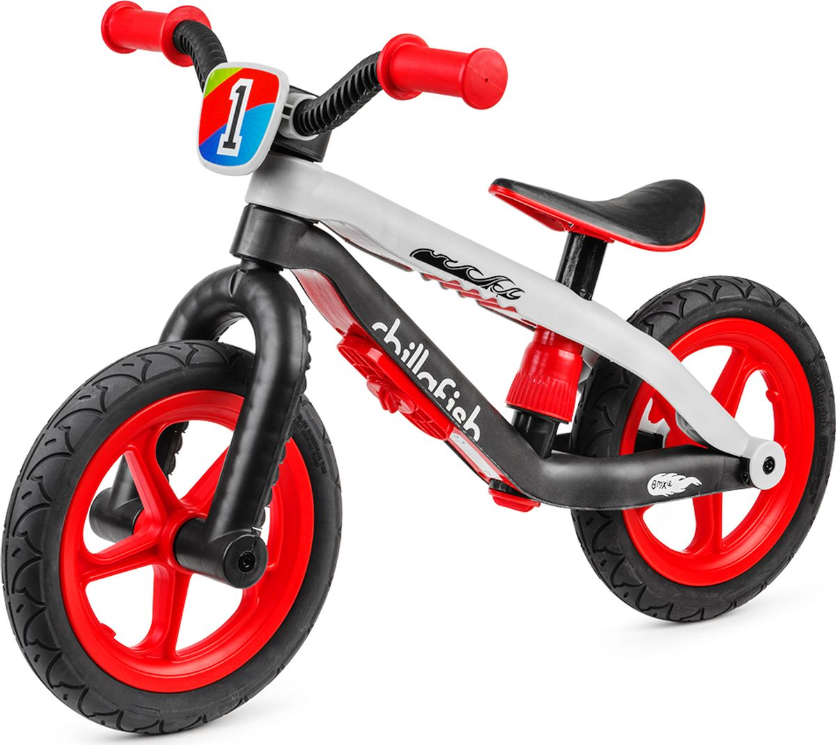 Chillafish Беговел детский BMXie-RS цвет красный
