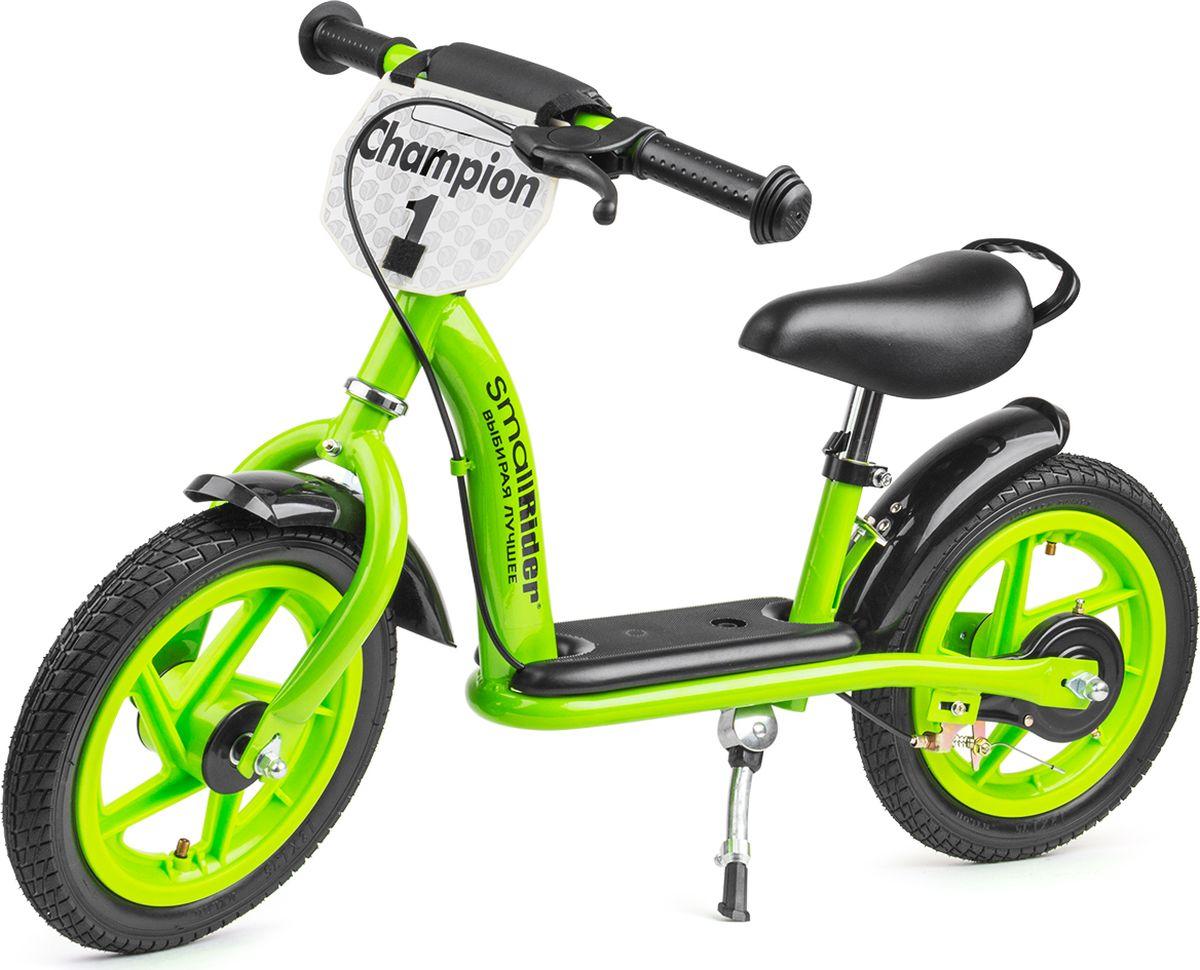 Small Rider Беговел детский Champion Deluxe цвет зеленый -  Беговелы