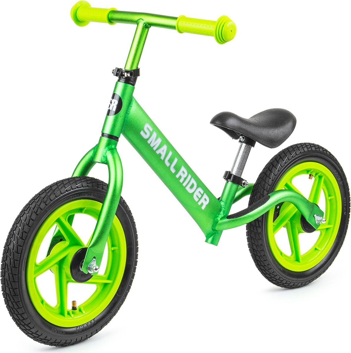 Small Rider Беговел Foot Racer Air цвет зеленый беговел dushi dushi беговел мотор