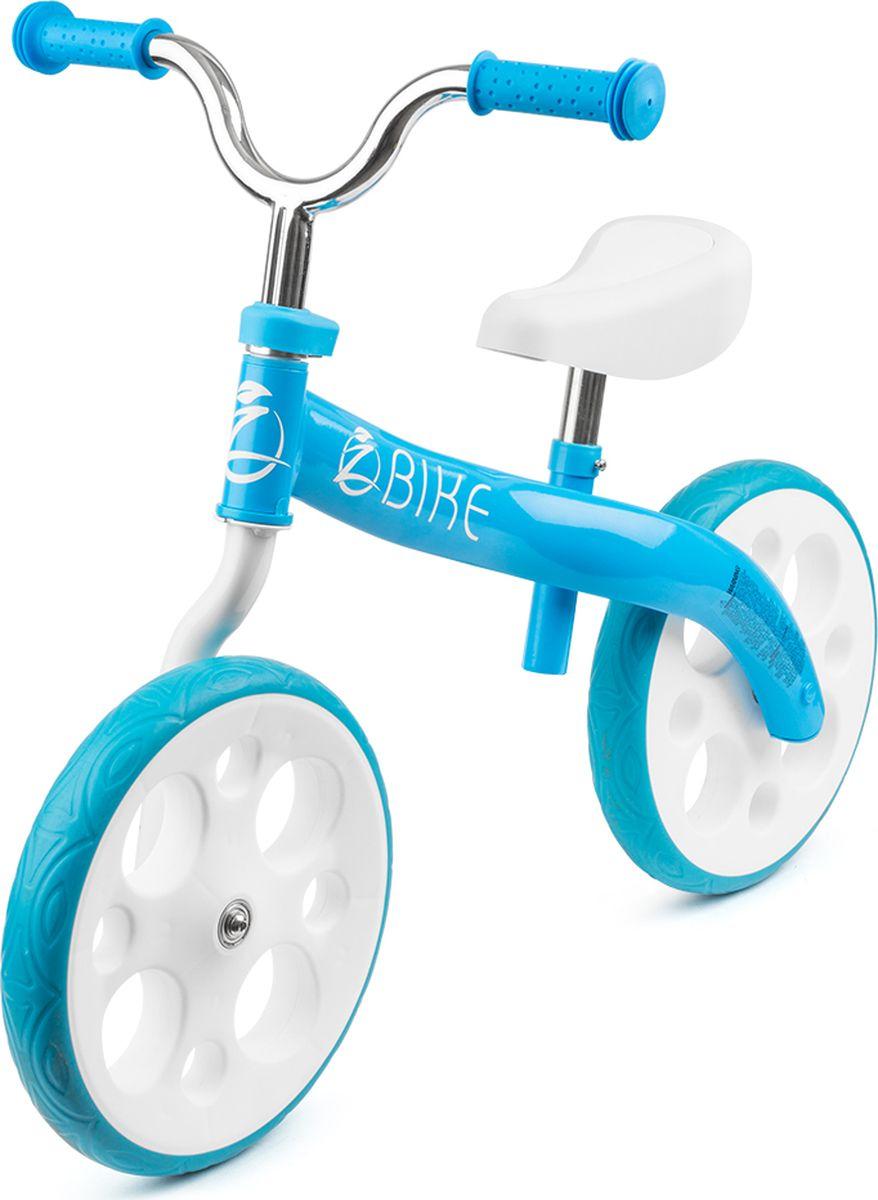 Zycom Беговел детский Zbike цвет белый синий zycom беговел детский zbike цвет белый синий