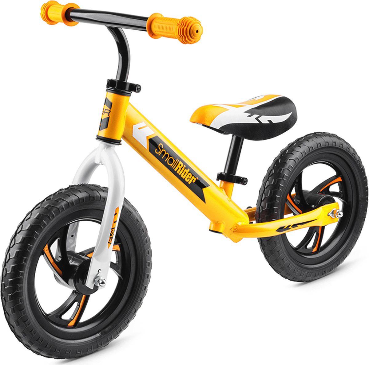 Small Rider Беговел детский Roadster Eva цвет желтый беговел bradex беговел с колесом в виде мяча велоболл