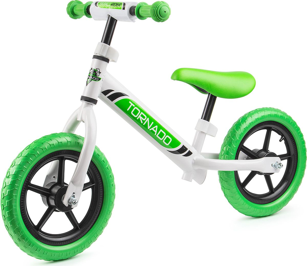 Small Rider Беговел детский Tornado цвет белый зеленый -  Беговелы