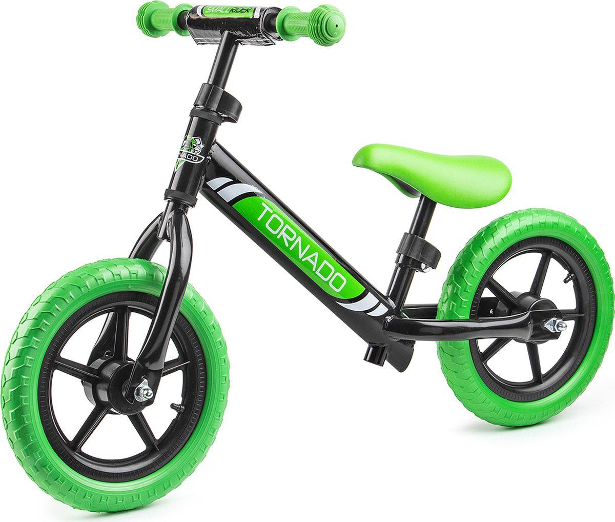 Small Rider Беговел детский Tornado цвет черный зеленый