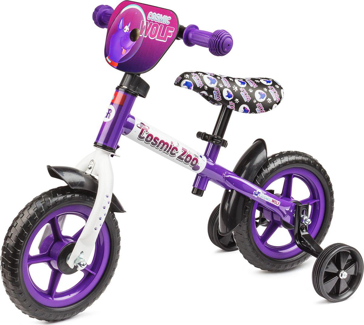 Cosmic Zoo Беговел детский Ballance цвет фиолетовый - Беговелы