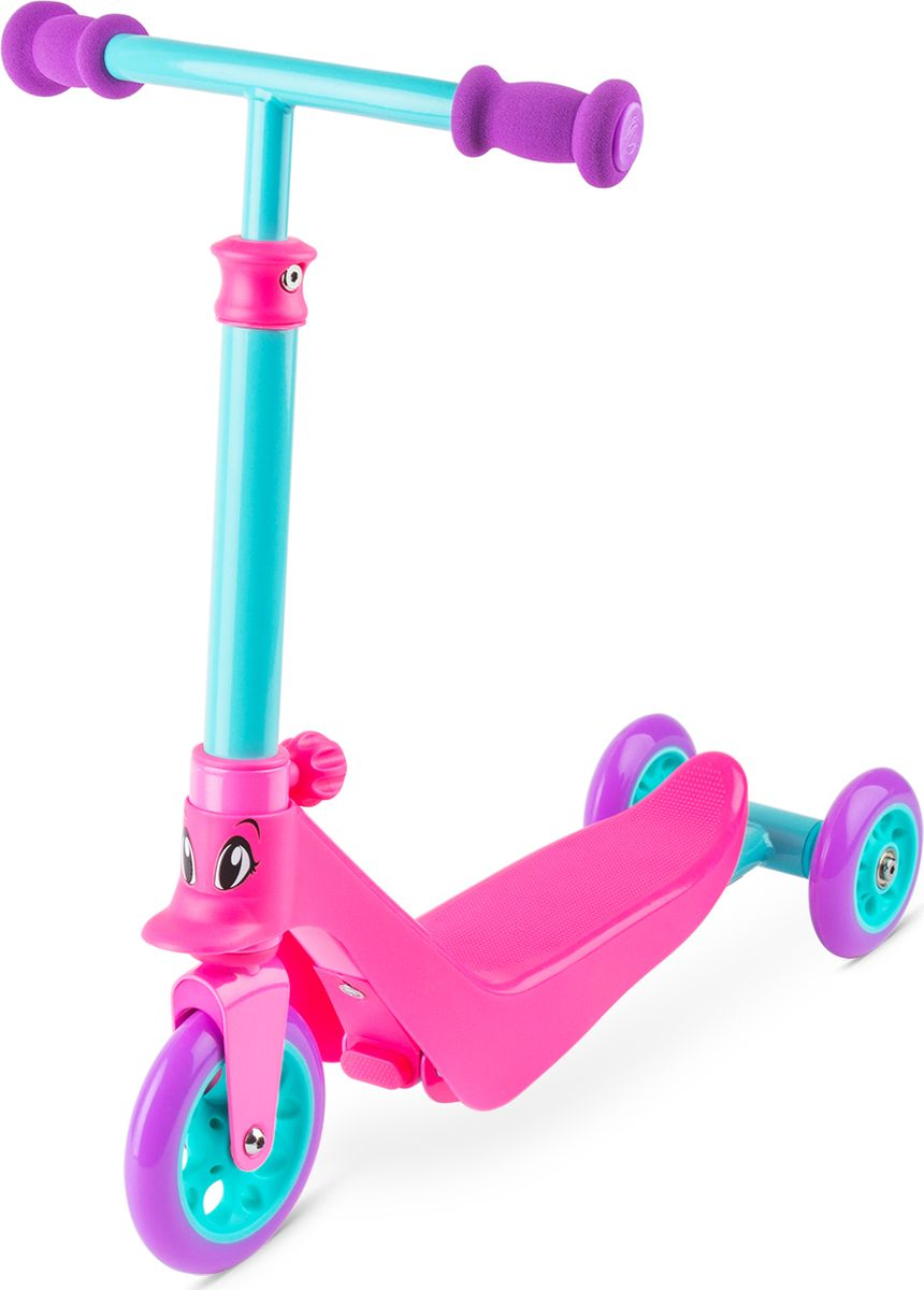 Zycom Беговел-самокат детский Zykster 2 in 1 цвет розовый zycom беговел самокат для малышей zykster 2 in 1 роз аква фиолет 1149177 цв 1149202