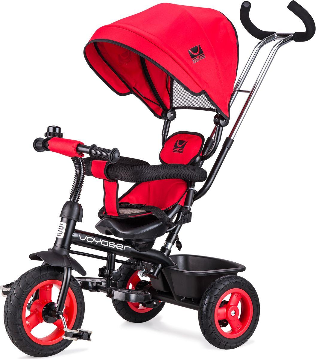 Small Rider Велосипед трехколесный Voyager цвет красный -  Велосипеды-каталки