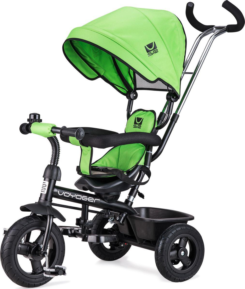 Small Rider Велосипед трехколесный Voyager цвет зеленый - Велосипеды-каталки