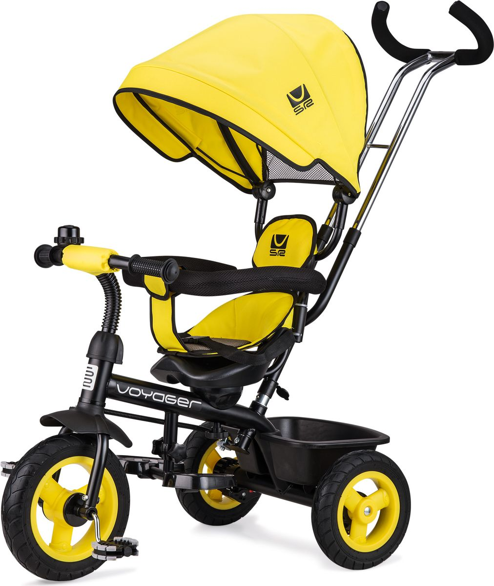 Small Rider Велосипед трехколесный Voyager цвет желтый -  Велосипеды-каталки