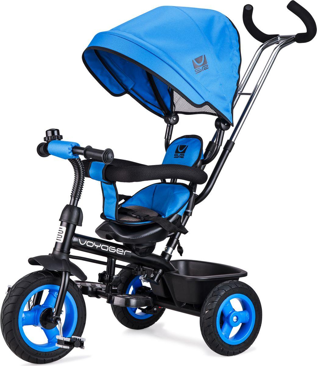 Small Rider Велосипед трехколесный Voyager цвет синий - Велосипеды-каталки