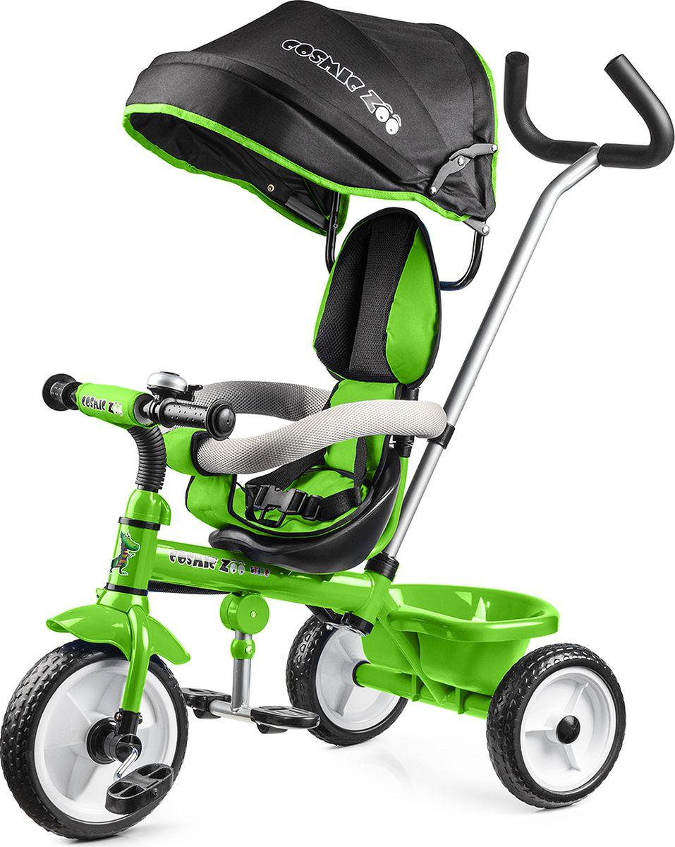 Small Rider Велосипед детский трехколесный Cosmic Zoo Trike цвет зеленый - Велосипеды-каталки