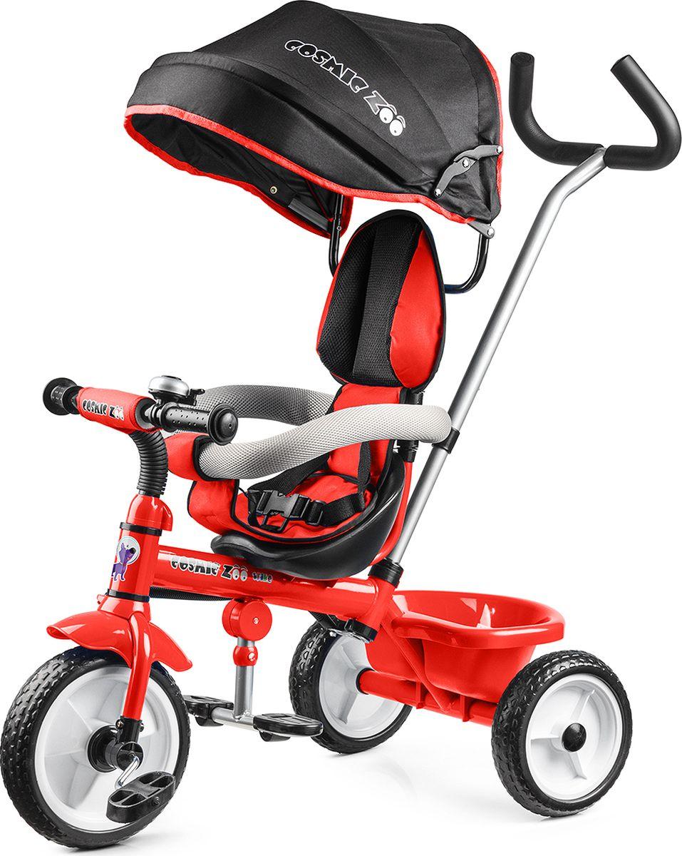 Small Rider Велосипед детский трехколесный Cosmic Zoo Trike цвет красный, Велосипеды  - купить со скидкой