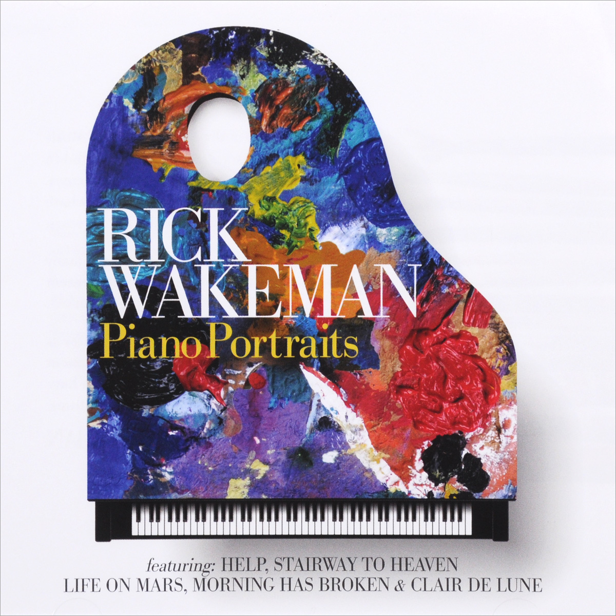 Рик Уэйкман Rick Wakeman. Piano Portraits рик уэйкман rick wakeman journey to the centre of the eart deluxe edition cd dvd