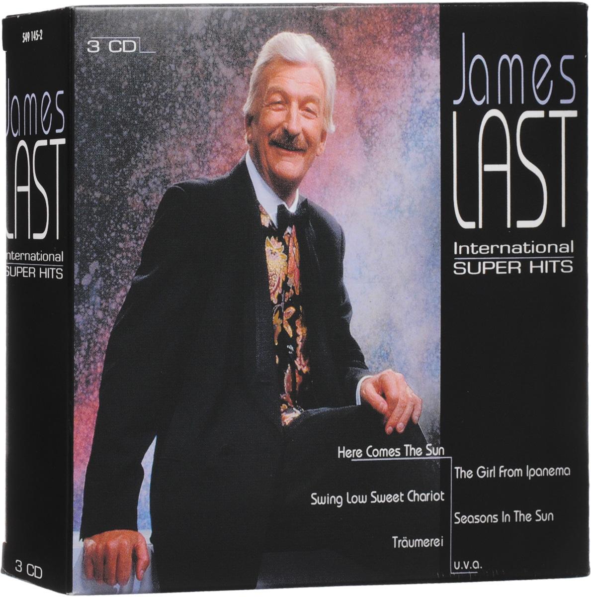 Джеймс Ласт James Last. International Super Hits (3 CD)