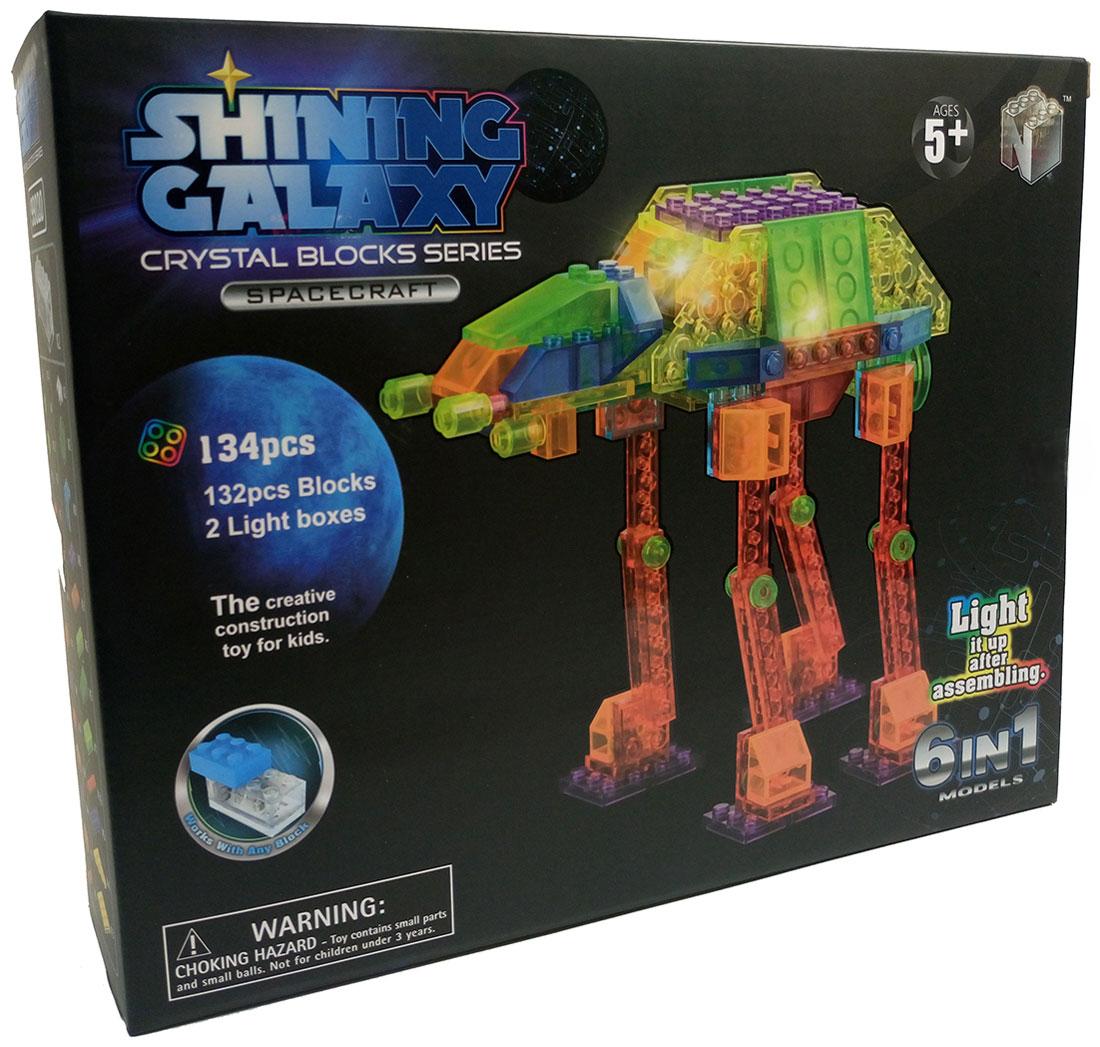Shining Galaxy Конструктор Космическая техника 6 в 1