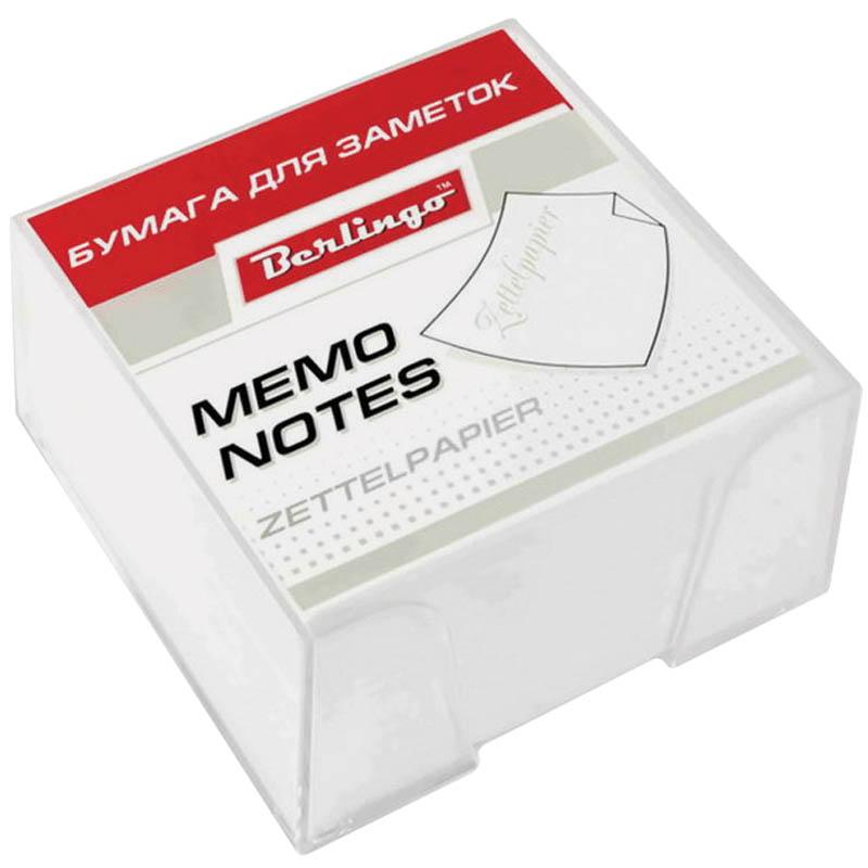 Berlingo Бумага для заметок Standard 9 х 9 х 4,5 см в пластиковой подставке цвет белый 500 листовZP7607Бумага для заметок с липким краем Berlingo Standard - это удобное и практичное решение для быстрой записи информации дома или на работе.Блок бумаги поставляется в удобном пластиковом боксе.