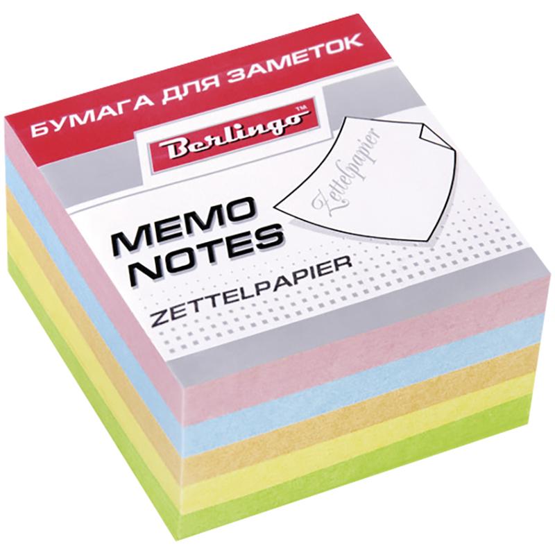 Berlingo Бумага для заметок Standard 9 см х 9 см 500 листовLNn_01159Бумага для заметок Berlingo Standard - это удобное и практичное решение для быстрой записи информации дома или на работе. Блок имеет бумагу разных пастельных цветов.