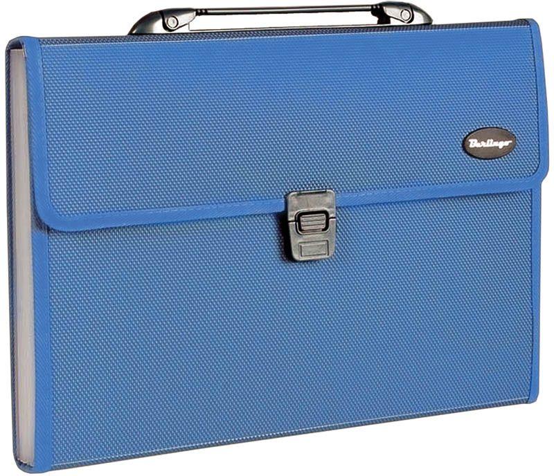 Berlingo Папка-портфель Standard 13 отделений  цвет синий berlingo папка скоросшиватель standard цвет зеленый