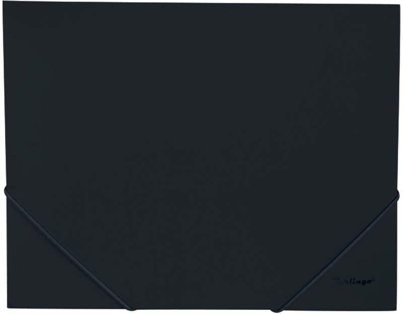 Berlingo Папка на резинке Standard цвет черный berlingo папка скоросшиватель standard цвет зеленый