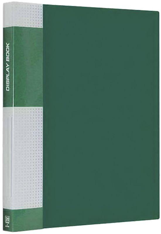 Berlingo Папка Standard с 20 вкладышами цвет зеленый berlingo папка standard на гребне с 20 вкладышами цвет черный