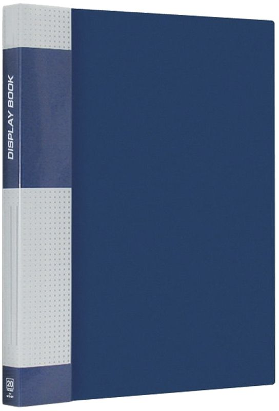 Berlingo Папка Standard с 20 вкладышами цвет синий berlingo папка standard на гребне с 20 вкладышами цвет черный