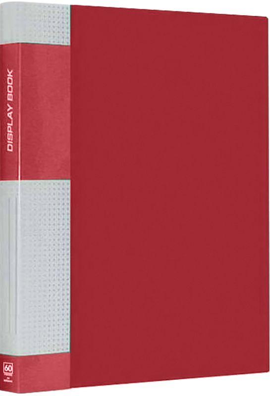 Berlingo Папка Standard с 60 вкладышами цвет красныйMT2441Функциональная папка Standard с прозрачными вкладышами удобна для хранения и демонстрации документов А4. На корешке имеется сменная этикетка для маркировки.Изготовлена из плотного пластика. Ширина корешка - 21 мм.