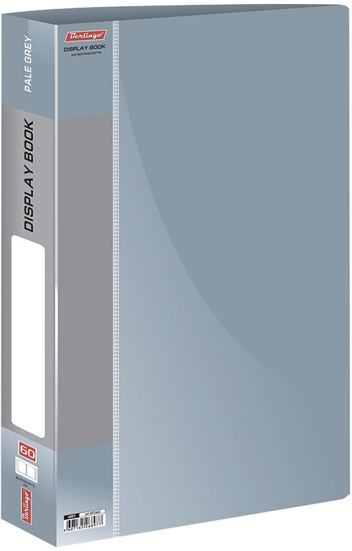 Berlingo Папка с файлами Standard цвет серый - Папки