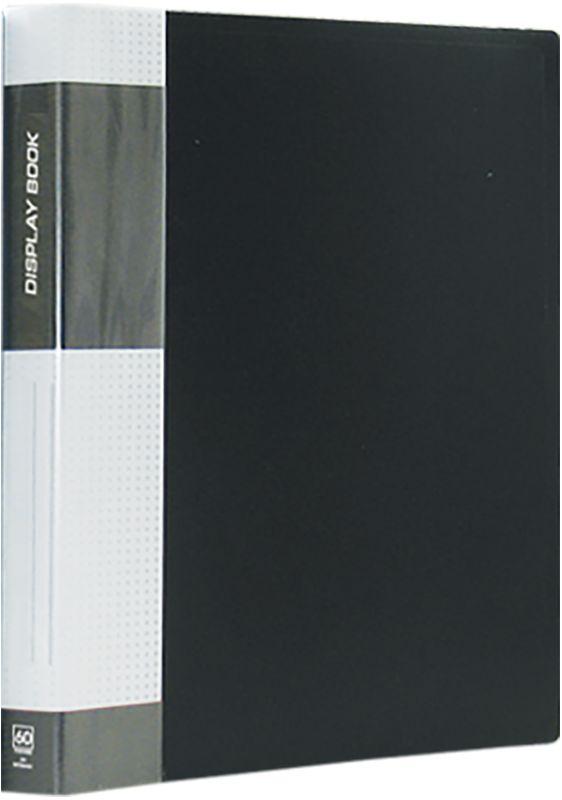 Berlingo Папка Standard с 60 вкладышами цвет черныйMT2444Функциональная папка Standard с прозрачными вкладышами удобна для хранения и демонстрации документов А4. На корешке имеется сменная этикетка для маркировки.Изготовлена из плотного пластика. Ширина корешка - 21 мм.