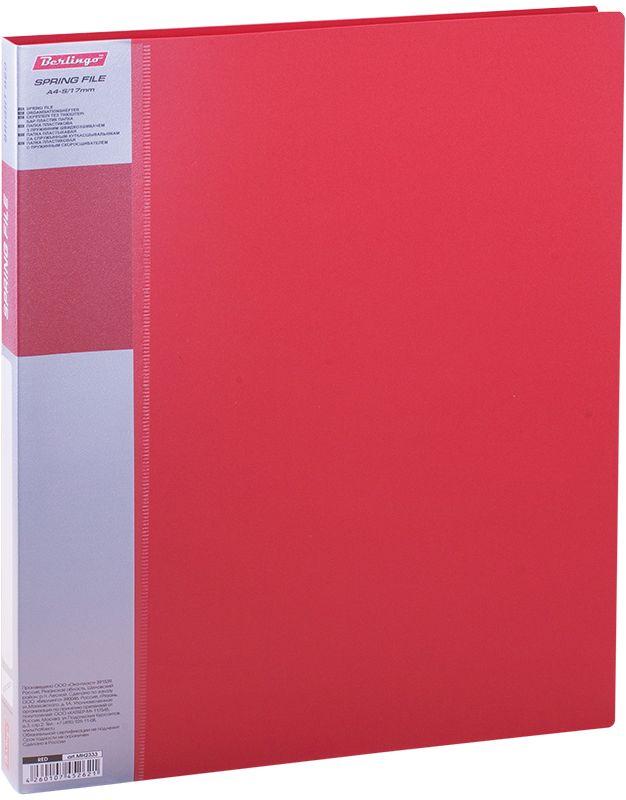 Berlingo Папка-скоросшиватель Standard цвет красныйMH2333Папка с зажимом Standard позволяет хранить и переносить документы, защищает их от пыли. Пружинный механизм из металла надежно фиксирует документы. Позволяет хранить документы формата А4. Подходит как для перфорированных документов, так и для папок-вкладышей со стандартной перфорацией. Изготовлена из плотного пластика. Классические офисные цвета в ассортименте. В корешок папки вставляется лист для описания и названия, внутри папки имеется кармашек для мелких бумаг.