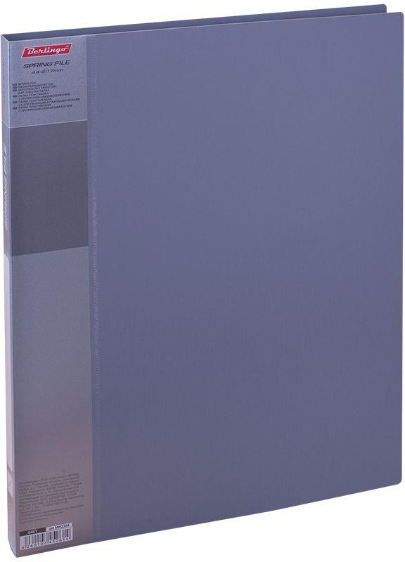 Berlingo Папка-скоросшиватель Standard цвет серыйMH2334Папка с зажимом Standard позволяет хранить и переносить документы, защищаетих от пыли. Пружинный механизм из металла надежно фиксирует документы.Позволяет хранить документы формата А4. Подходит как для перфорированныхдокументов, так и для папок-вкладышей со стандартной перфорацией.Изготовлена из плотного пластика. Классические офисные цвета в ассортименте.В корешок папки вставляется лист для описания и названия, внутри папки имеетсякармашек для мелких бумаг.