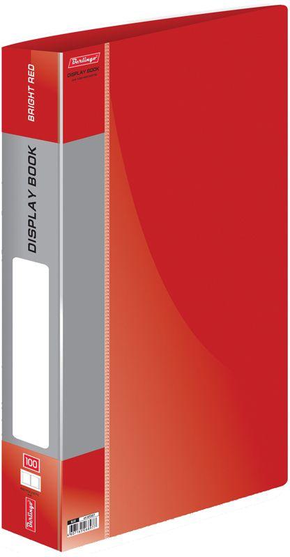 Berlingo Папка Standard со 100 вкладышами цвет красныйMT2451Функциональная папка Standard с прозрачными вкладышами удобна для хранения и демонстрации документов А4. Имеется внутренний карман для быстрого извлечения необходимых документов, а на корешке - сменная этикетка для маркировки.Изготовлена папка из плотного пластика. Ширина корешка - 40 мм.